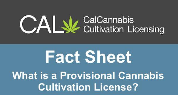 Cal Cannabis Fact Sheet Title